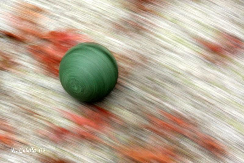 Green Bocci Ball