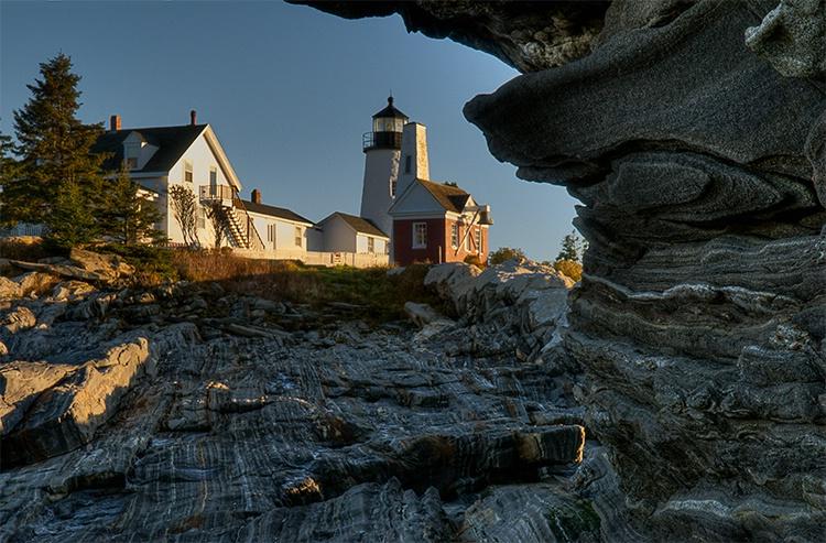 Pemaquid Light, Maine,  Sunrise