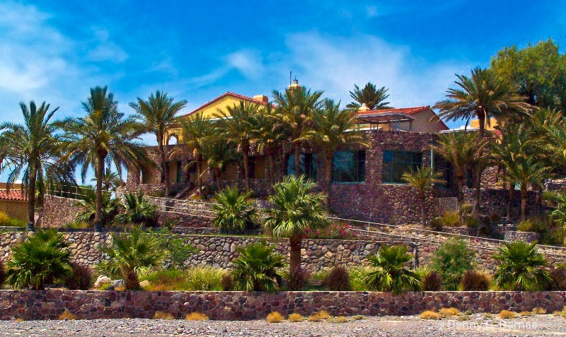 Furnace Creek Inn, Death Valley-California