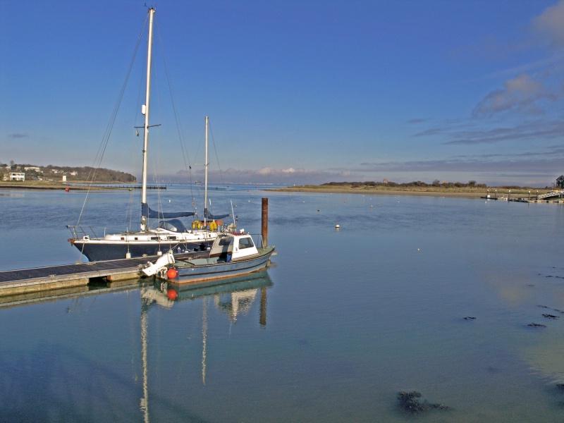Bembridge Harbour calm