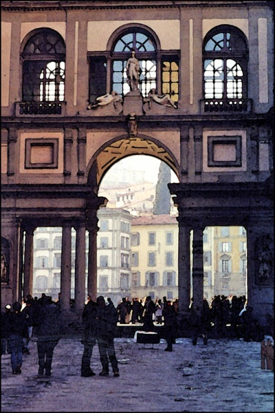 Florence Arch card