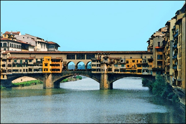 Florence Bridge View card