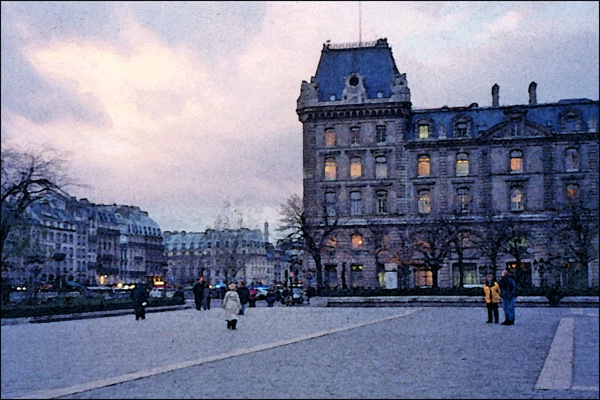Paris Evening  2 card