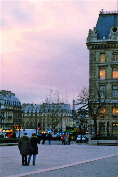 Paris Evening 1 card
