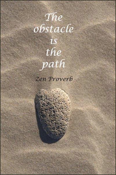 Beach Stone Meditation 2 card