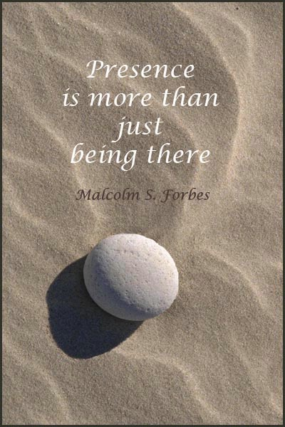 Beach Stone Meditation 9 card