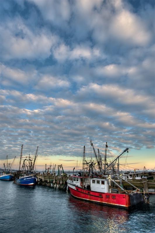 Provincetown Harbor Sunset