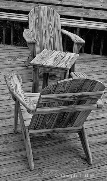 Deck Chairs bw