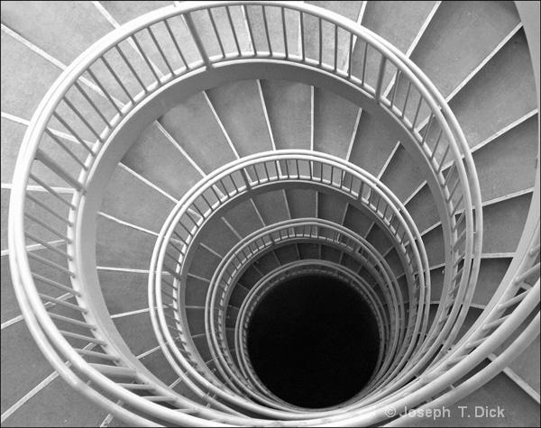 Stair Spiral bw