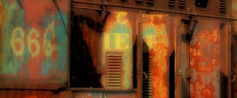 A Timeworn Locomotive - Rusty 688