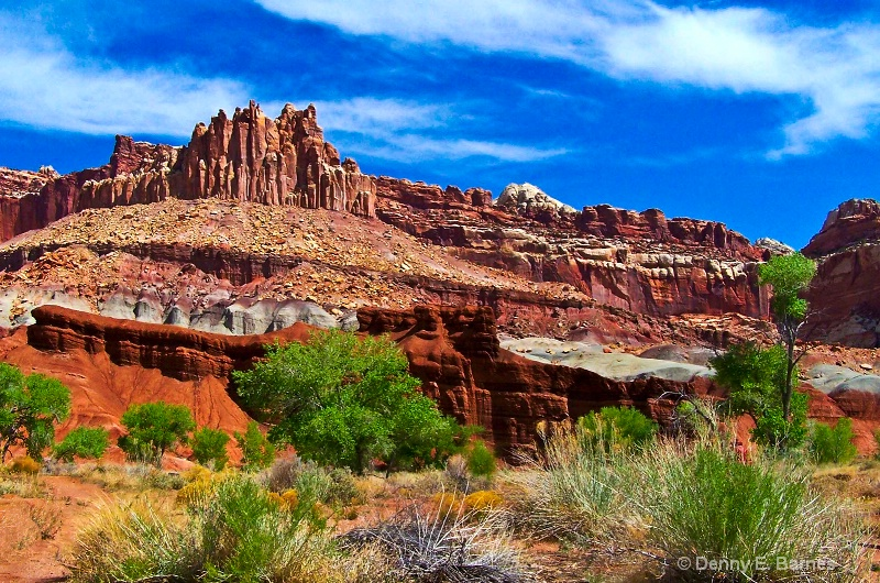 Capitol Reef Red Rock, Utah