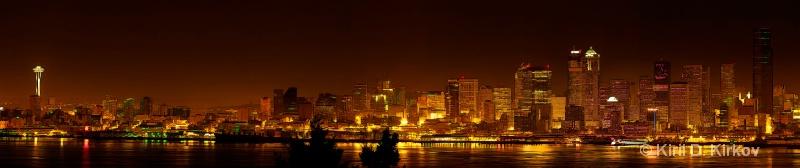 Seattle by Night1