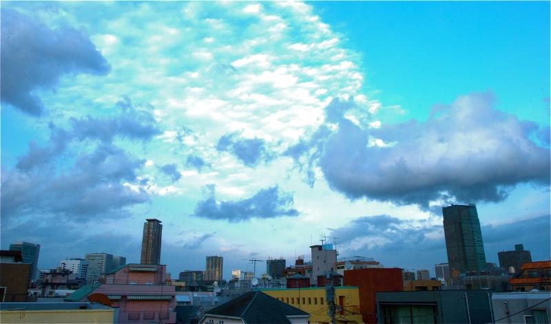 Busy Sky - Horizontal