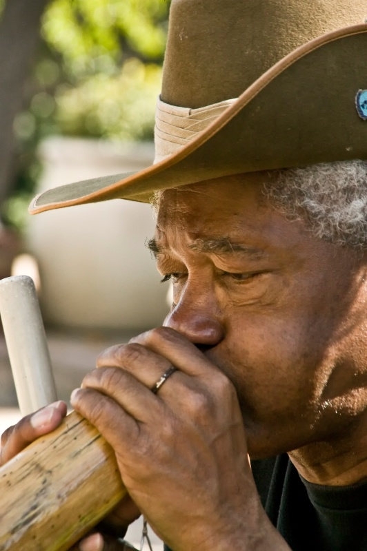 Didgeridoo Man