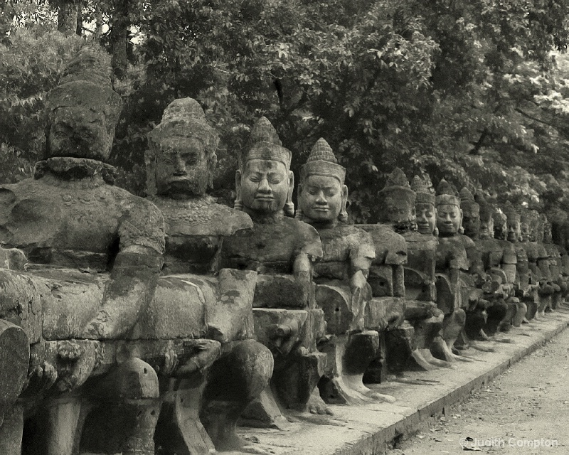 Khmer warriors