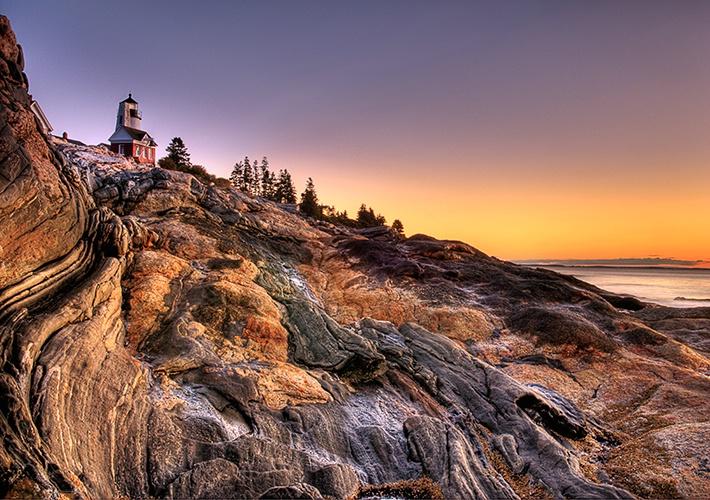 Pemaquid Light Maine, Sunrise