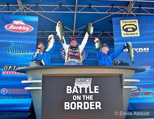 Jason Williamson Winner Battle of the Border