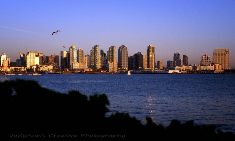 Twilight on San Diego