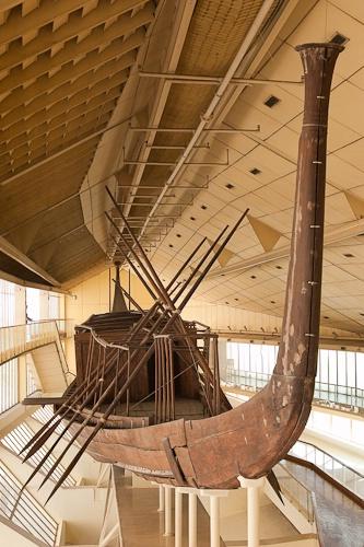 Khufu's Famous Boat at Giza