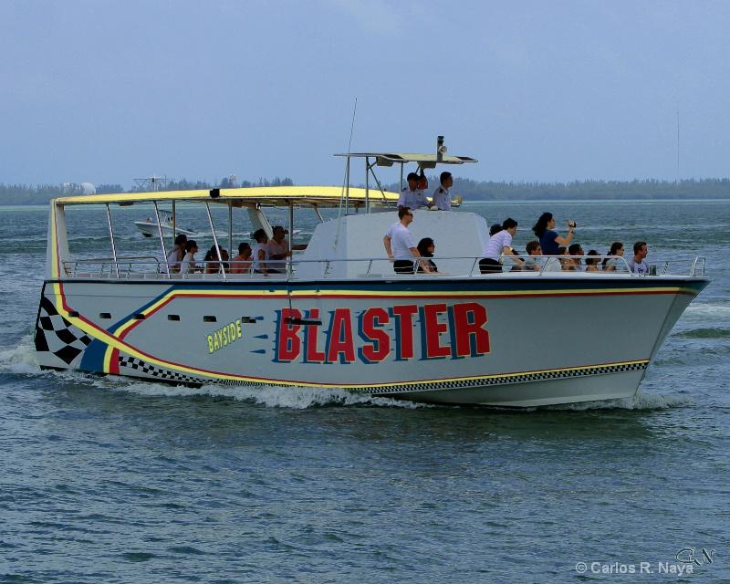 Blaster Bayside Biscayne Bay Miami