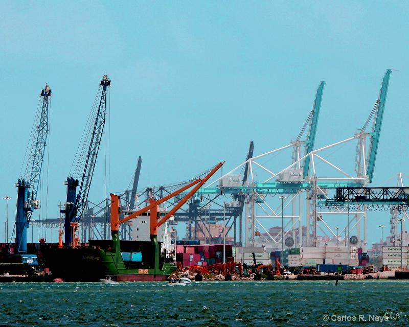 Cargo Port Of Miami