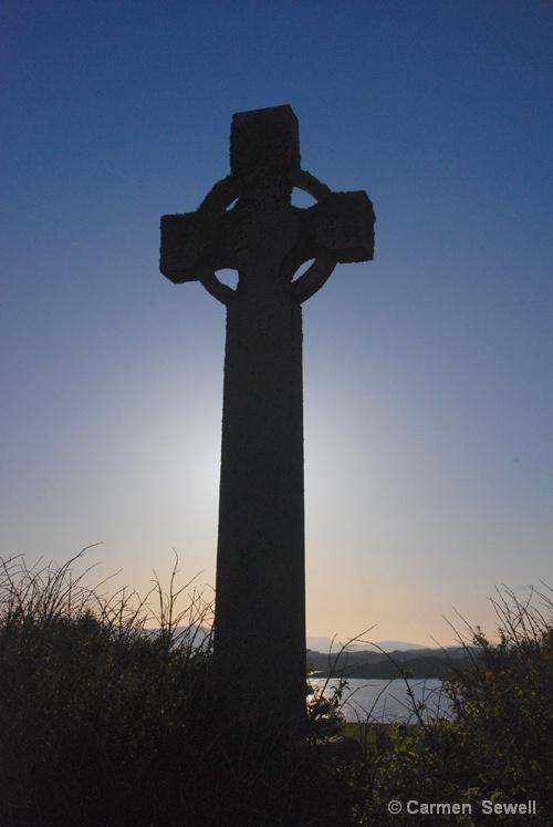 Celtic Cross Isle of Iona