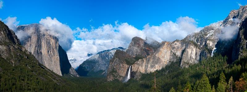 Yosemite Tunnel View Panorama 2009