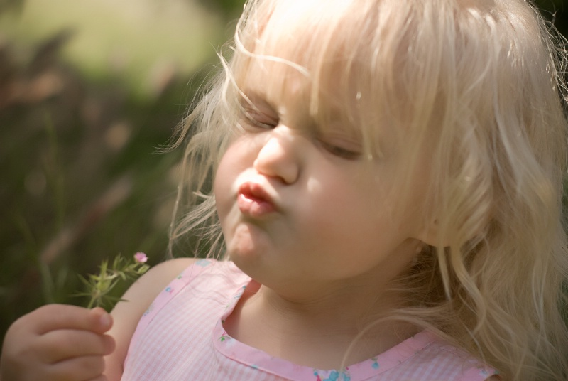 Marissa ~ Smelling The Flowers