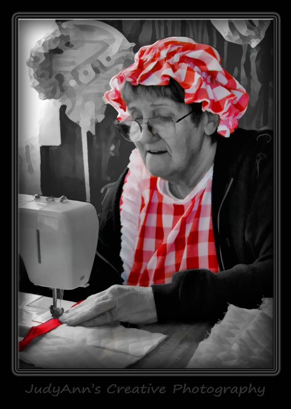 Grannie's New Machine