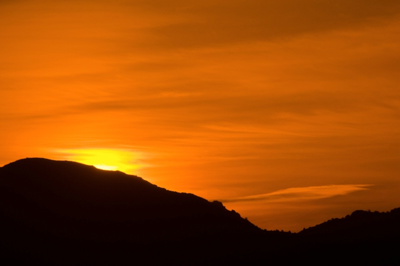 Sunset in Reno