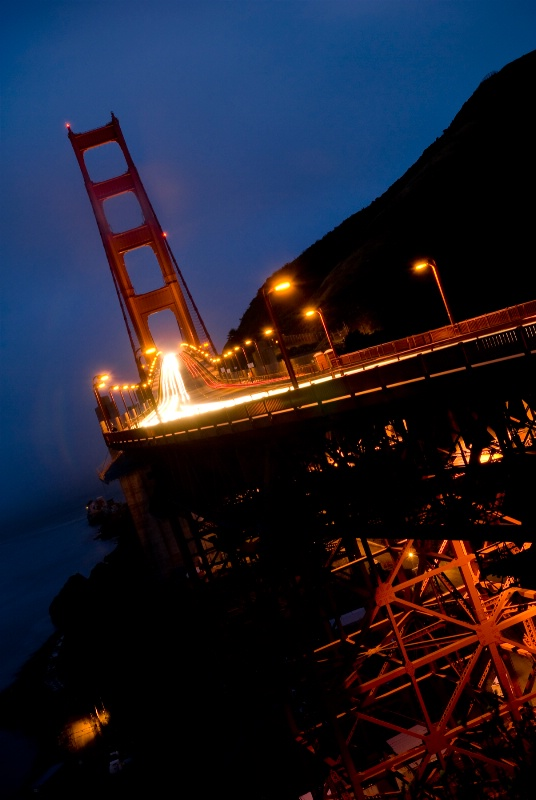 Golden Gate Bridge at Dusk ~ Another Perspective