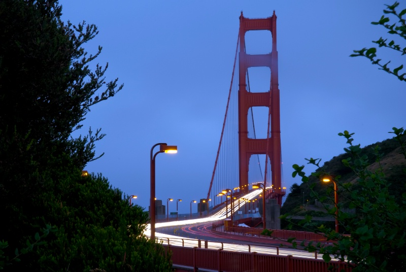 Golden Gate Bridge at Dusk ~ Yet Another View