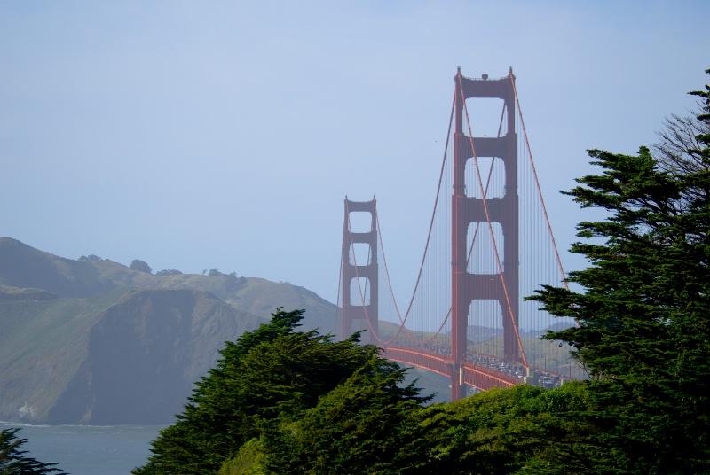 Golden Gate Bridge ~ San Francisco, CA