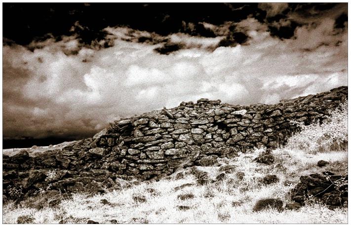 The Burren Ireland (infrared)