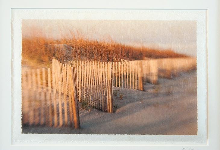 Dune Fence Impression on Rice Paper
