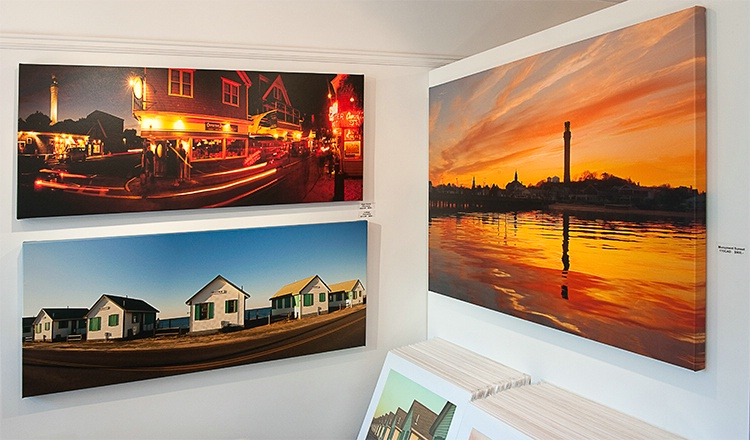 Photographs on Gallery Wrapped Canvas
