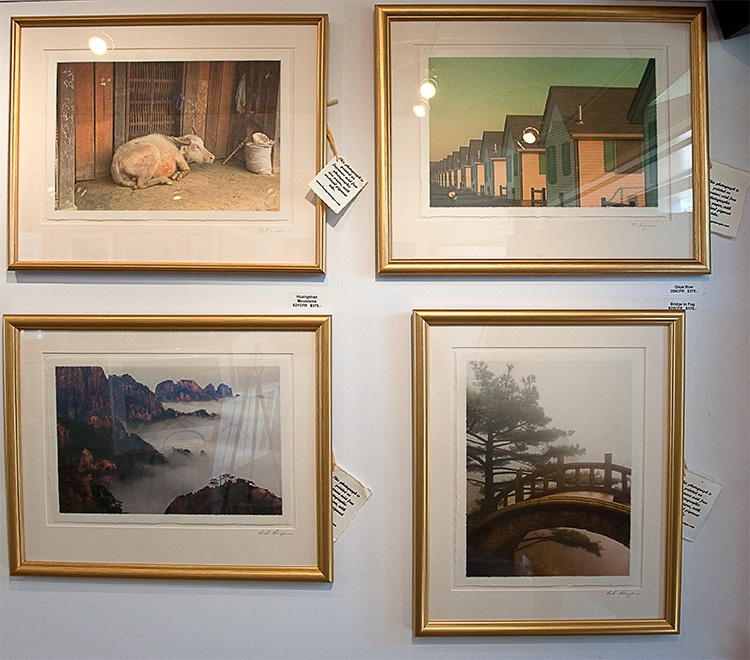 Photographs printed on Rice Paper
