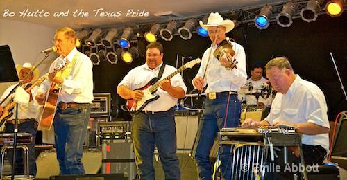 """Bo Hutto and """"The Texas Pride"""""""