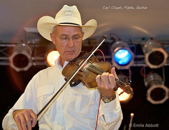 Carl Clout, Fiddle and Guitar