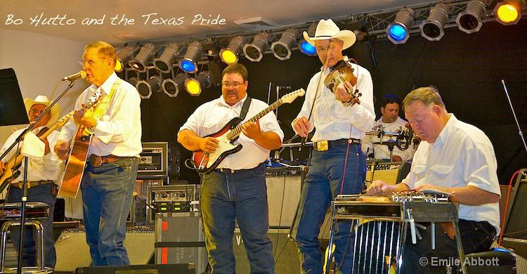 """Bo Hutto and """"The Texas Pride"""