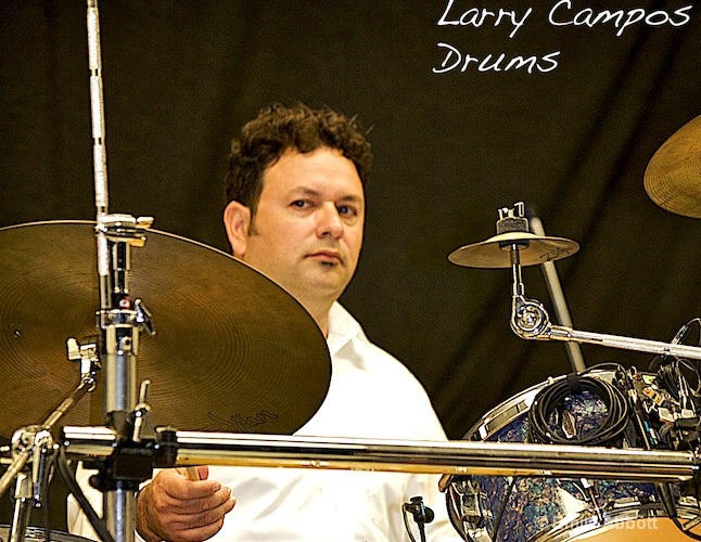 Larry Campos, Drums