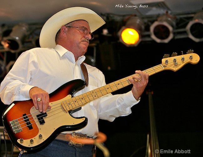 Mike Young, Bass