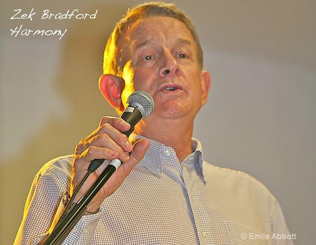 Zek Bradford, Harmony