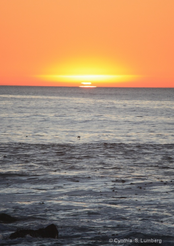 Sunset - January, 2009