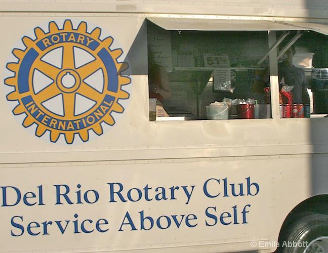 """Del Rio Rotary Club """"Service above self"""""""