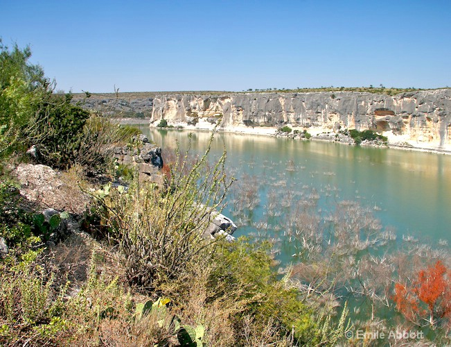 Confluence of the Pecos with the Rio
