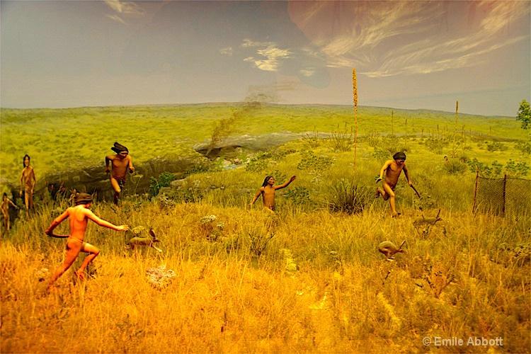 hunter-gathers of Seminole Canyon