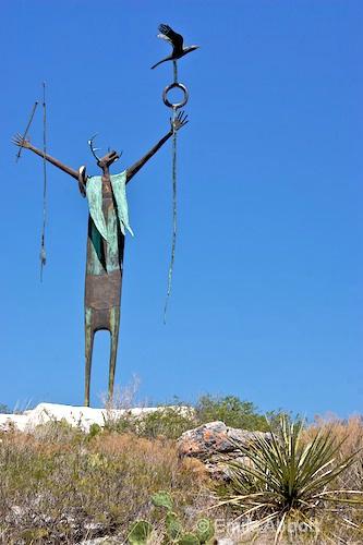 """Maker of Peace""  of Seminole Canyon"