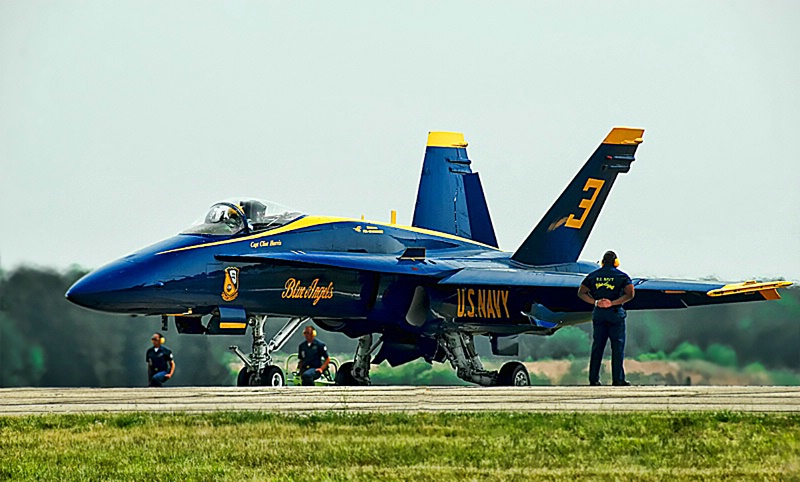 Blue Angels: Awaiting takeoff clearance