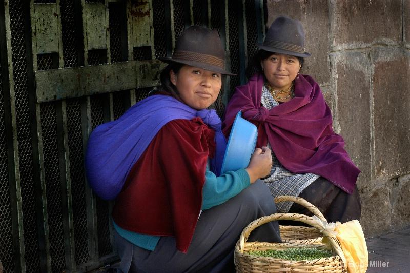 Street Vendors- Quito Ecuador